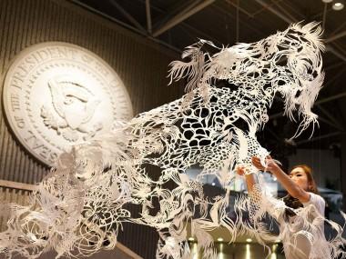 Nahoko Kojima – Paper cut art