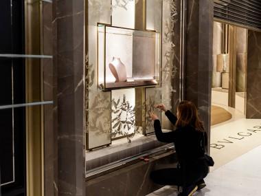 Nahoko Kojima – Paper cut art – Devanture