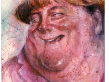 Frank Hoppmann – caricature satirique – Angela Merkel