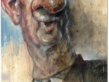Frank Hoppmann – caricature satirique – Charles de Gaulle