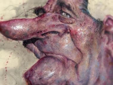 Frank Hoppmann – caricature satirique – Jacques Chirac