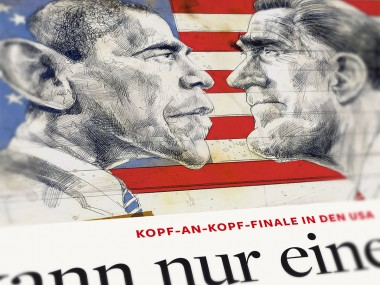 Frank Hoppmann – caricature satirique – Obama