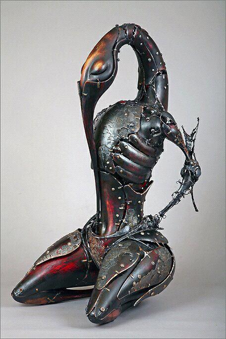 Andrey Drozdov Steampunk Sculptures
