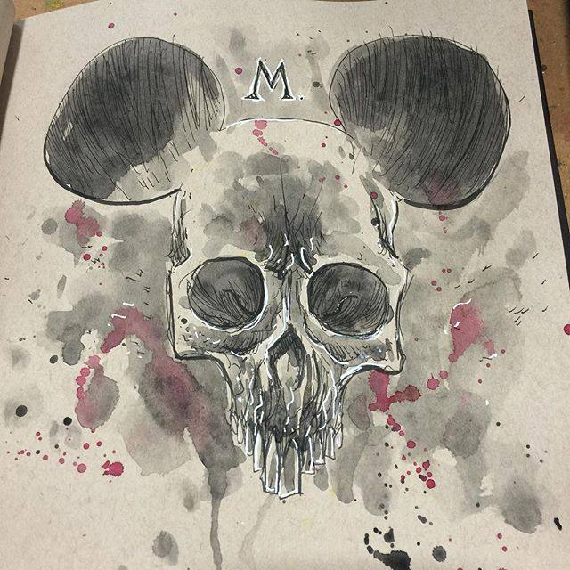 Ben Templesmith – Illustration Mickey Mouse