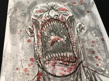 Ben Templesmith #zombie #walkingdead sketchcover