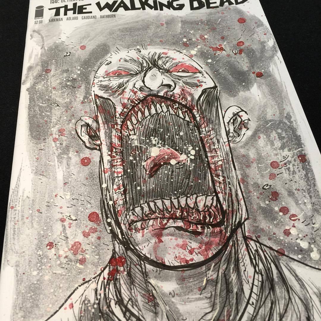 Ben Templesmith #zombie #walkingdead sketchcover