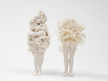 Claudia Fontes – Sculptures porcelain