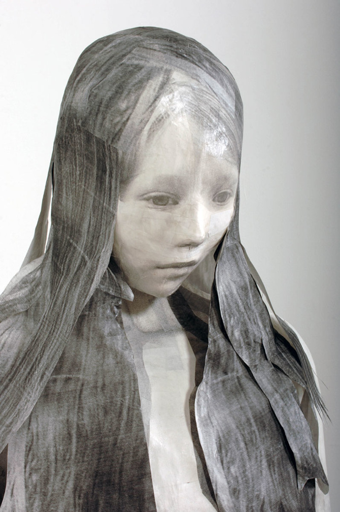 Midori Harima - Paper sculptures - Lost acquisition