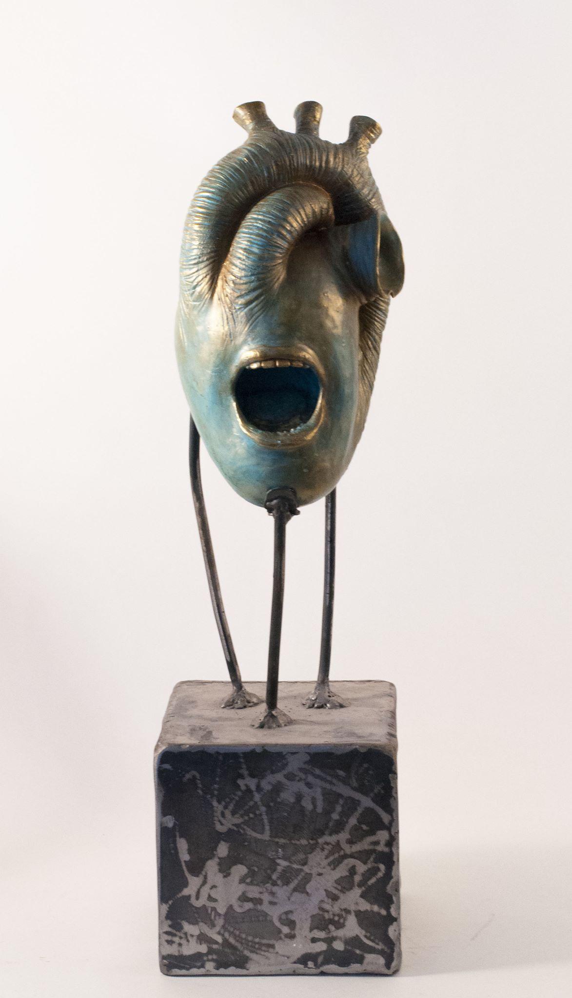 Nel-14512 sculptures – Cri du coeur 2016