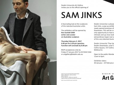 Sam Jinks exhibition Melbourne 2017