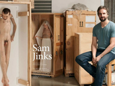 sam jinks – sculptor portrait