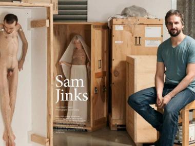 sam jinks – sculptor portrait