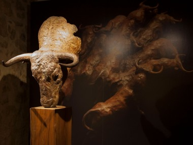 CODERCH & MALAVIA, En la dehesa, 71 x 64 x 59 cm, Bronze