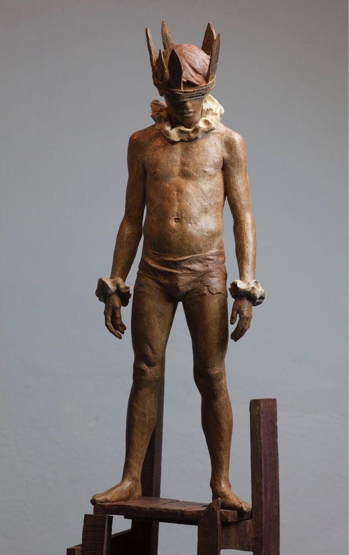 CODERCH & MALAVIA, Hamlet, 83 x 30x 20 cm, bronze