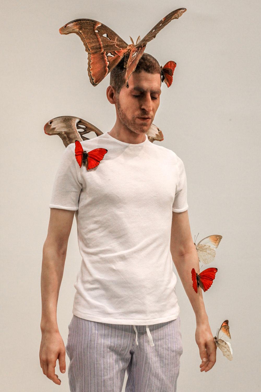 Fabien Mérelle – Sculpture : Papillons, 2013