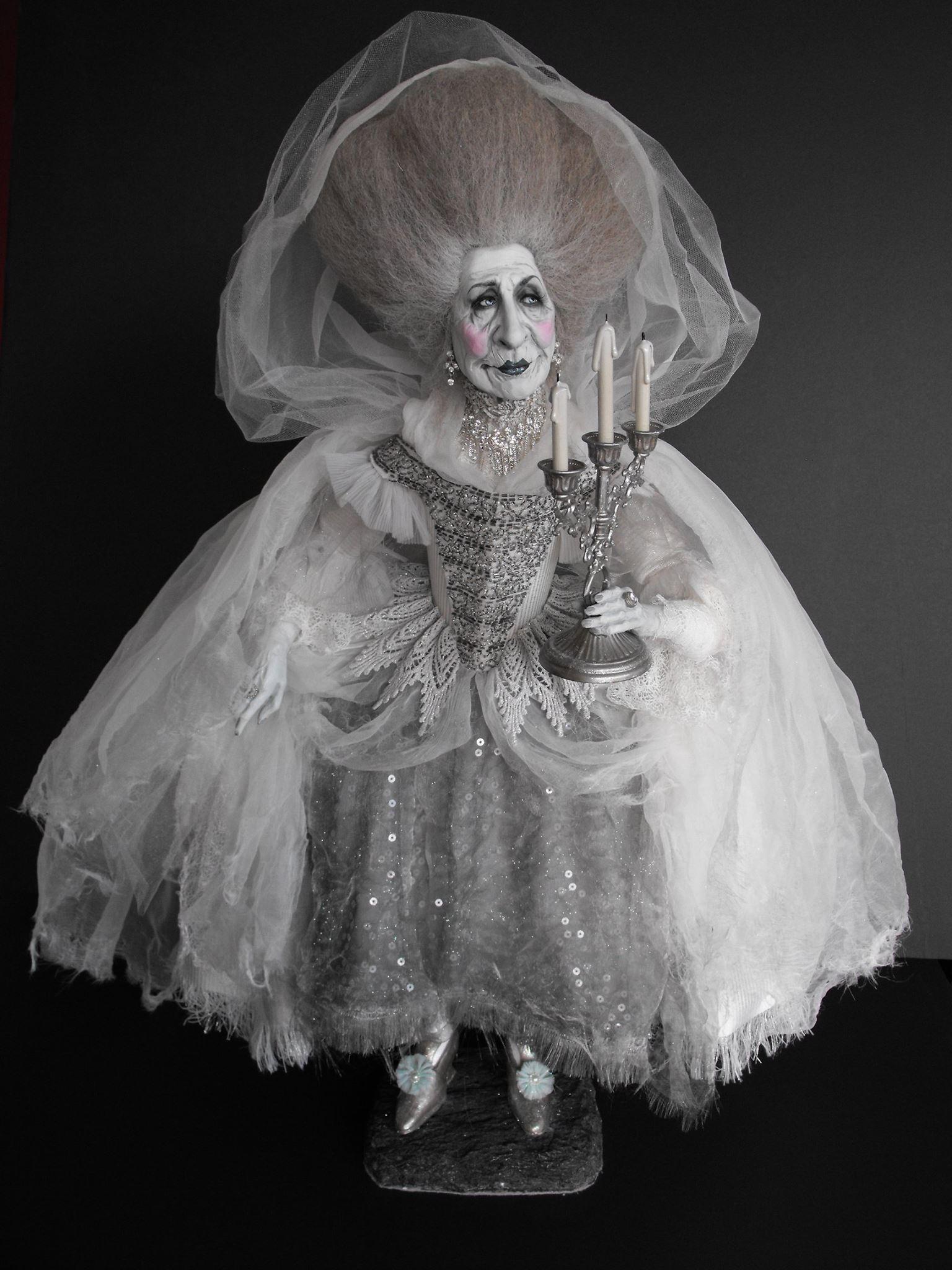 """Poché Studio – Dolls sculpture """"Belle époque"""""""