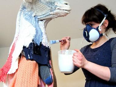Dorcas Casey – Portrait sculpteure textile