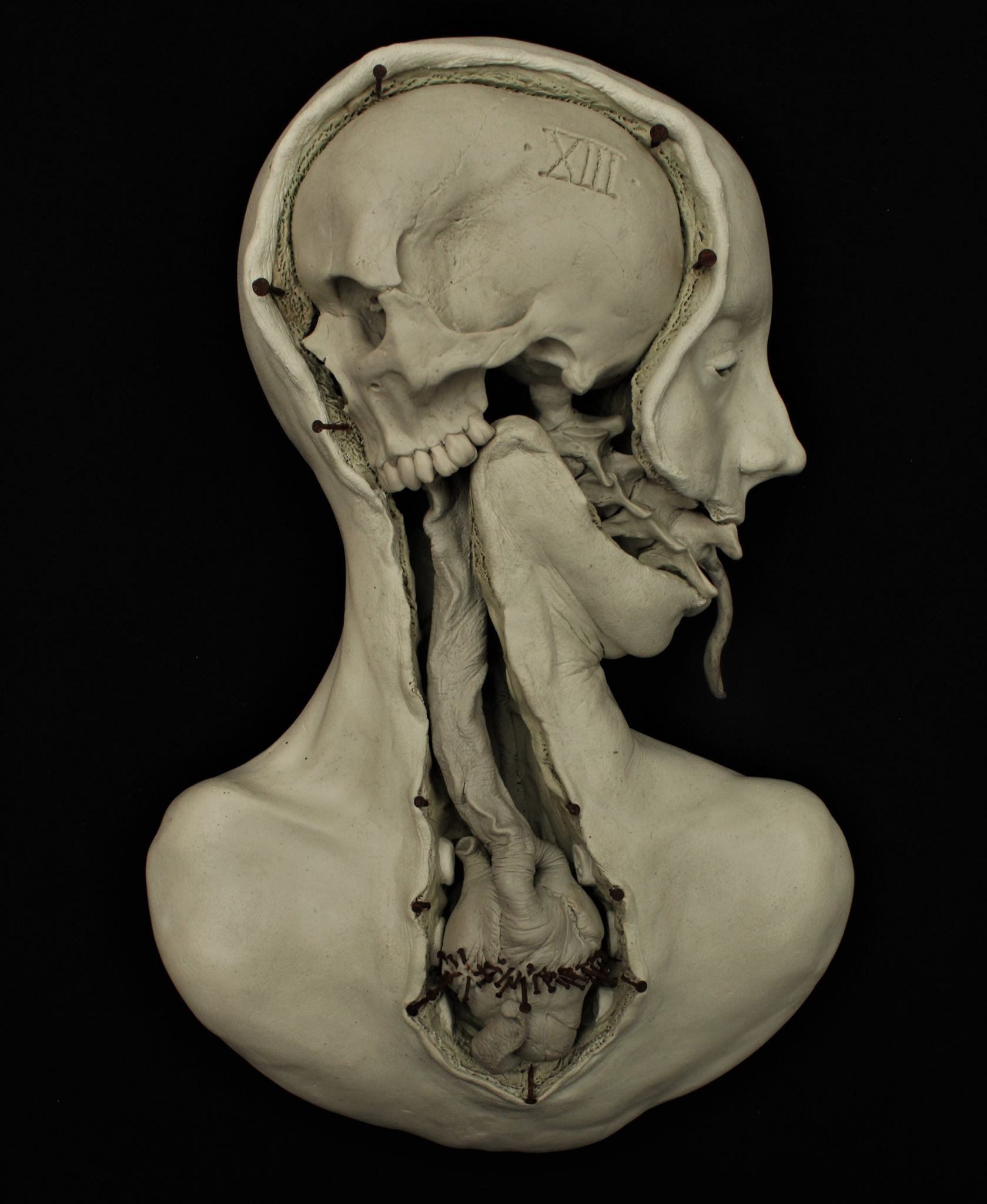 Emil Melmoth, Sculptures – Death as The Arcane XIII (Transfiguration)