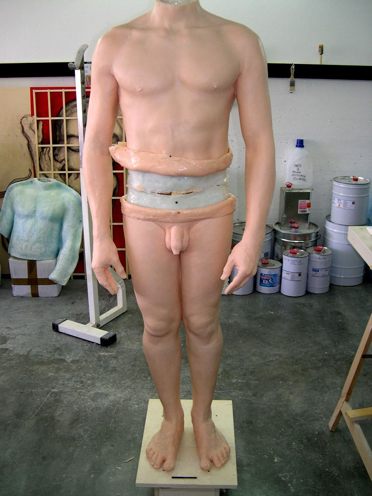 Hyper realistic Sculptures Santissimi In Vivo – 2013