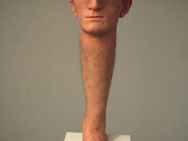 Hyper realistic Sculptures Santissimi Santissimi – Mentalese -ATTO I – 2014