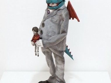 Masayasu Tokoro For the Magic Dragon (2017) mixed media 36×20×16cm Dolls sculptures