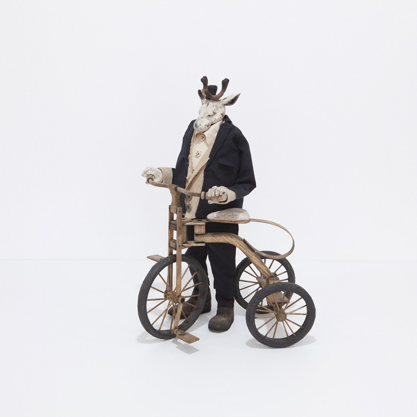 Masayasu Tokoro mixed media Dolls sculptures