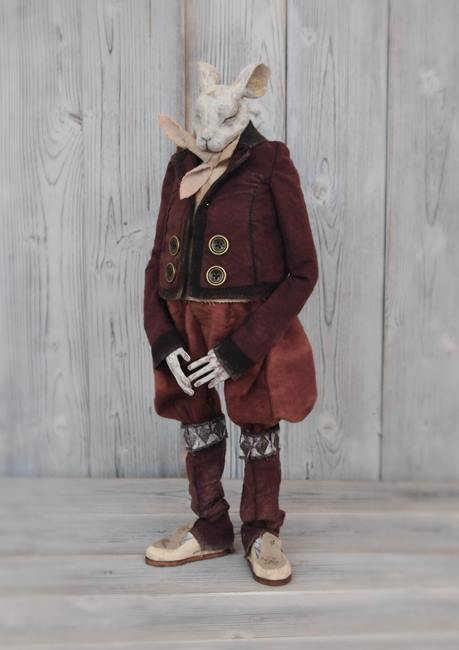 Masayasu Tokoro mixed media Dolls sculptures