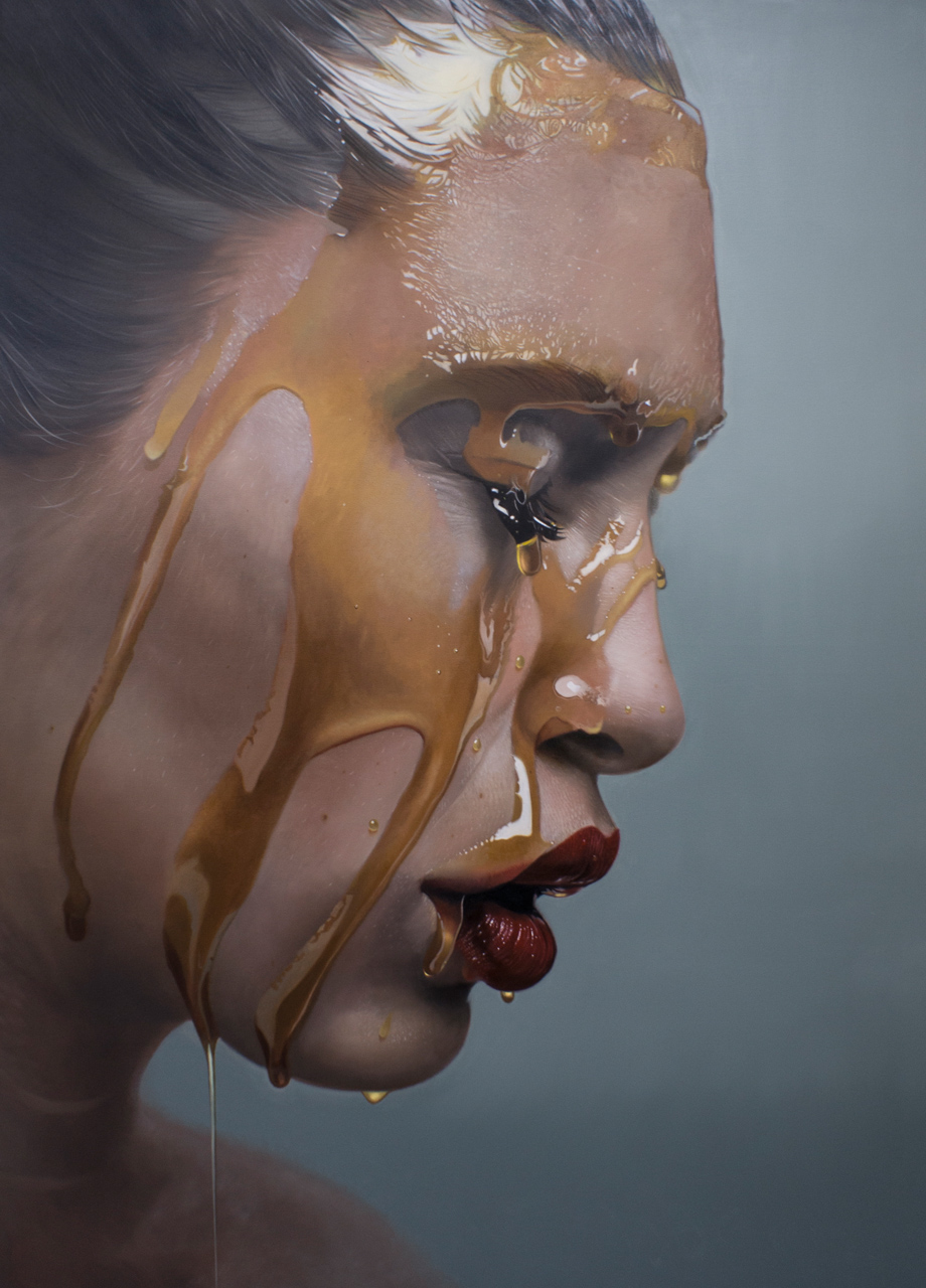 Mike Darkas – Hyper-realistic paintings portrait