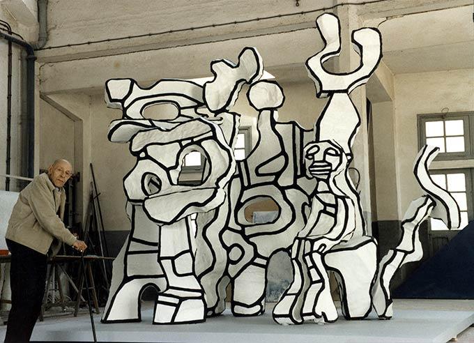 Jean Dubuffet - Sculptures