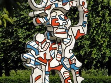 Jean Dubuffet – Le Bel costumé 1973 – Résine époxy, peinture polyuréthane