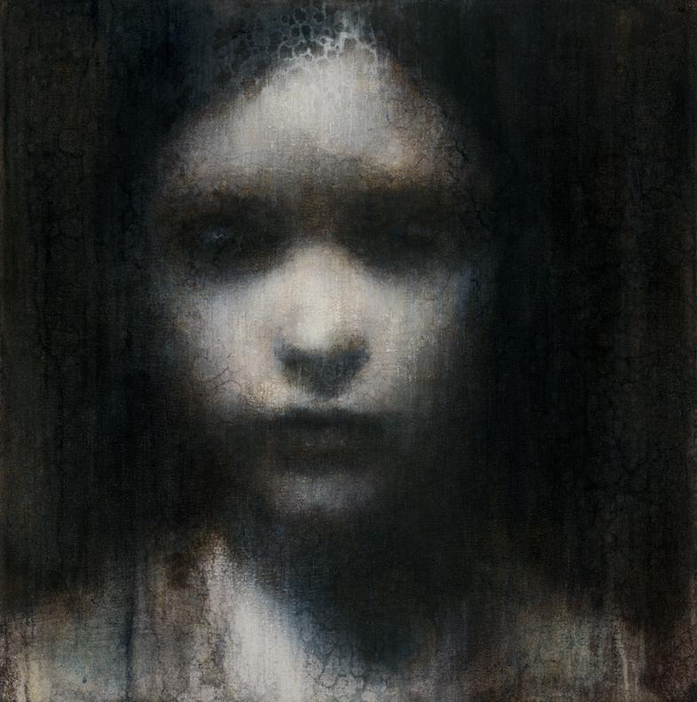 Maya Kulenovic – Painting – FIGURE OF RAIN 2011, oil on canvas