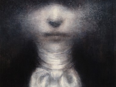 Maya Kulenovic – Painting / oil on canvas – MAN OF STARS, 2011, oil on canvas