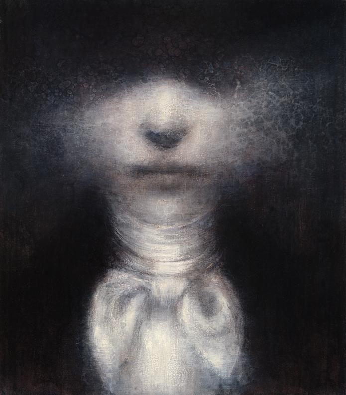 Maya Kulenovic - Painting / oil on canvas - MAN OF STARS, 2011, oil on canvas