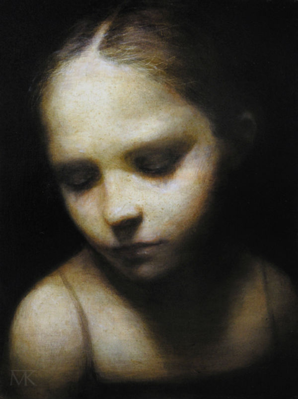 Maya Kulenovic – Painting oil on canvas – NARCOLEPTIC