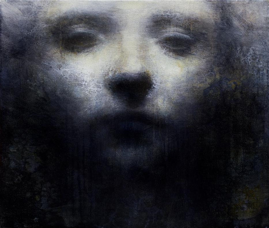 Maya Kulenovic – Painting oil on canvas – NEBULA, 2011, oil on canvas,