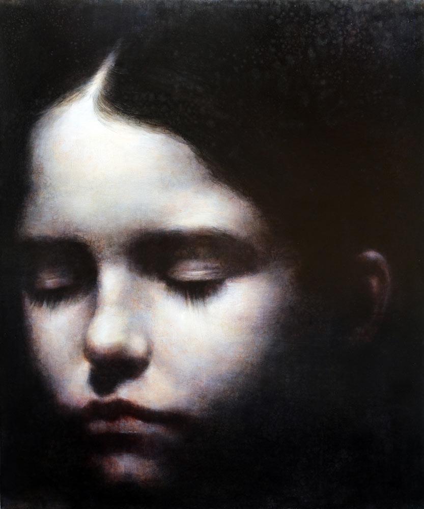 Maya Kulenovic – Painting / oil on canvas – firstlight