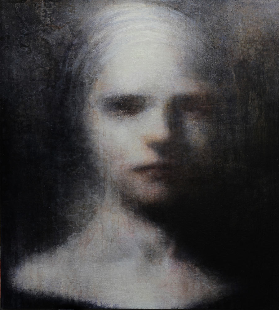 Maya Kulenovic – Painting / oil on canvas – lady of passing