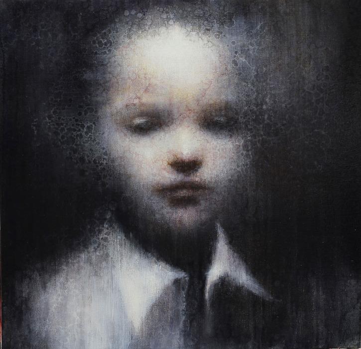 Maya Kulenovic – Painting / oil on canvas – mirage – 30×30