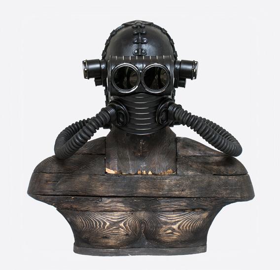 Bob Basset – Steampunk Art Leather Gas Mask