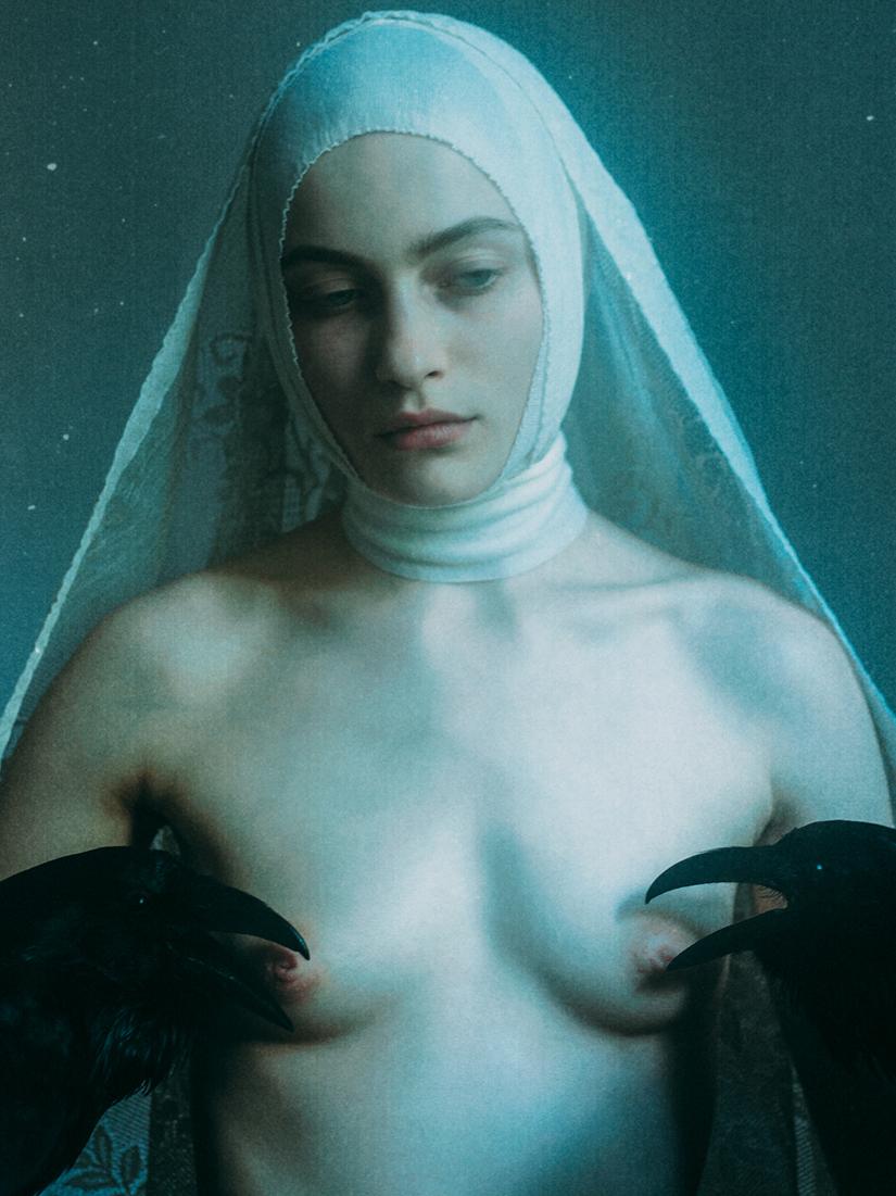 Laura Makabresku – Dark photography – Sanctification