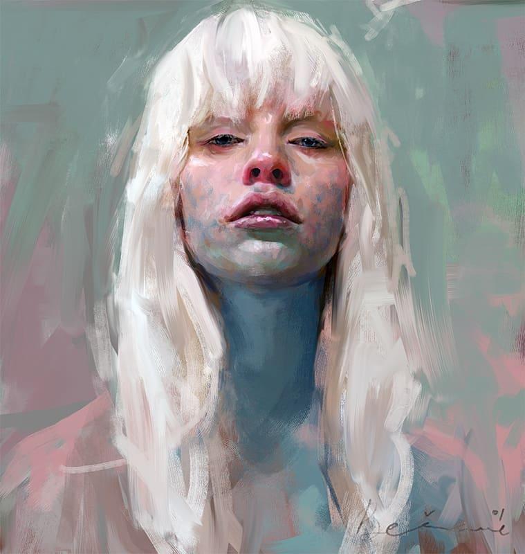 ivana besevic.studio Digitale art painting