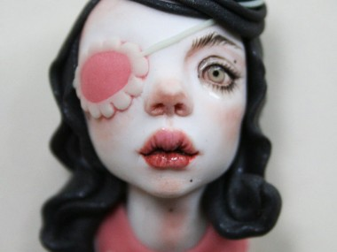 Octoplum dolls art sculptures