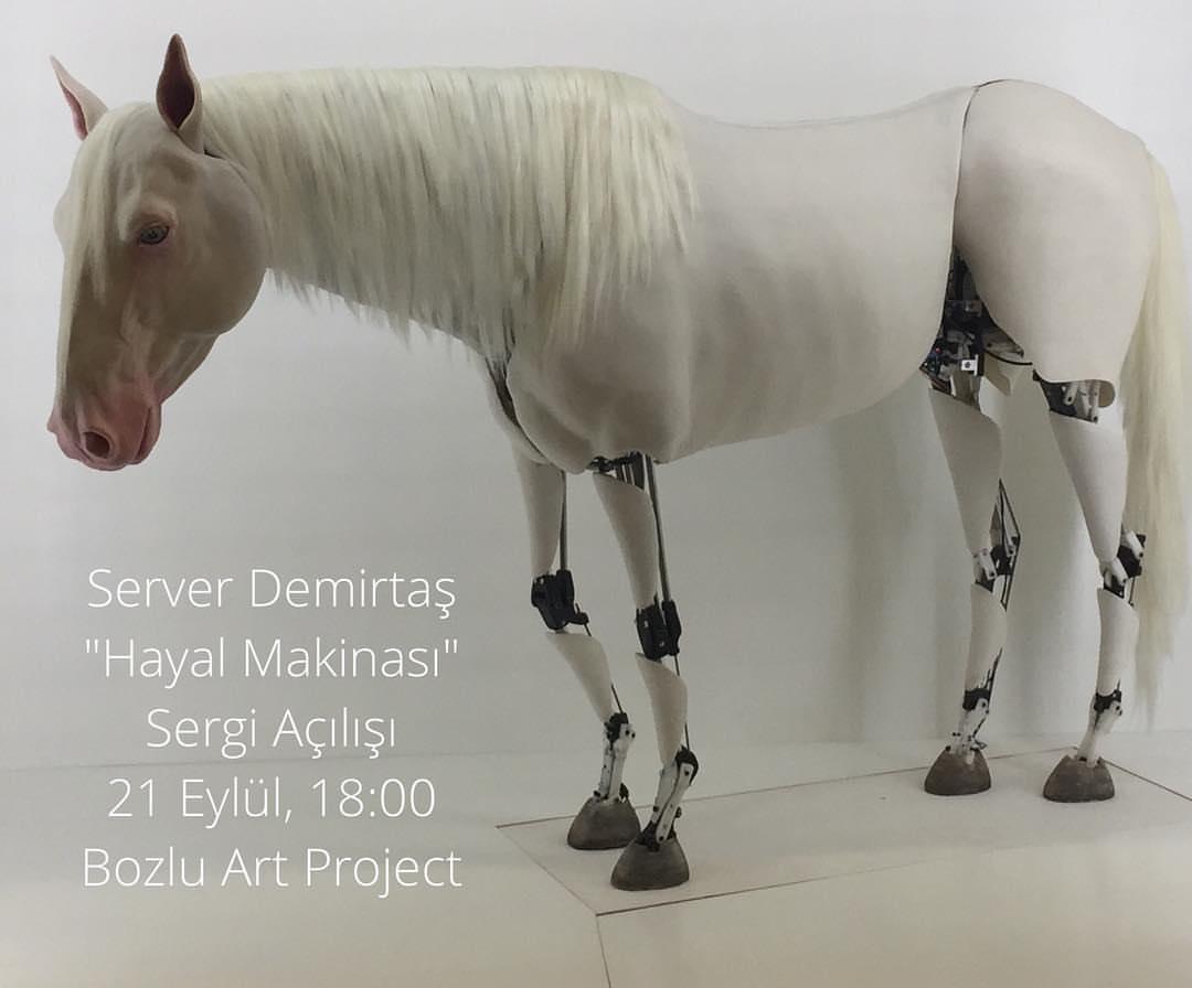 Server Demirtaş #kineticsculpture #contemporaryistanbul2017