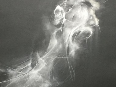 Ter Ars Zawitkowska – White charcoal and pastel on paper