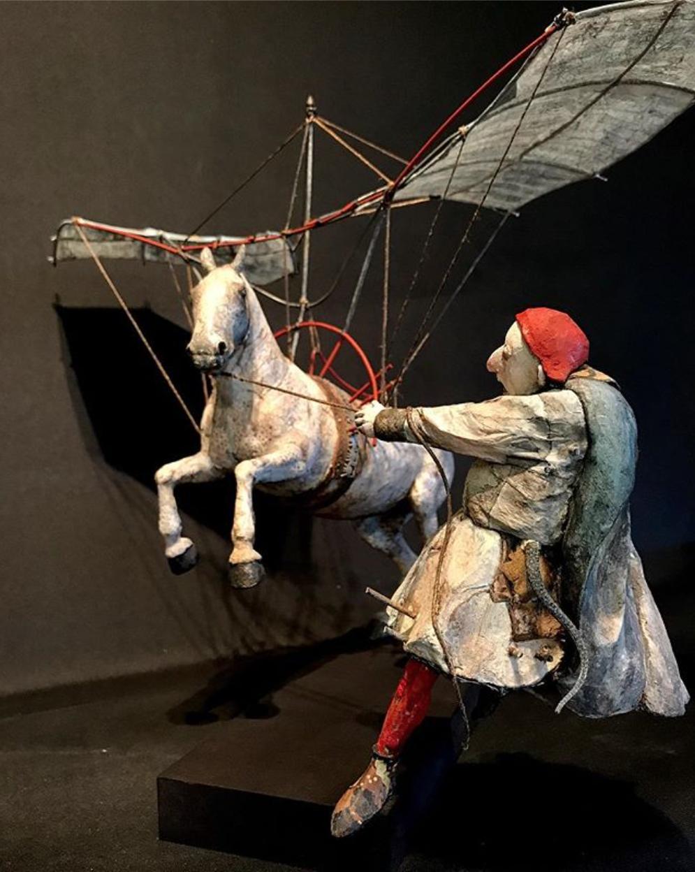 Marta Runemark – Sculptures oniriques et theâtrales