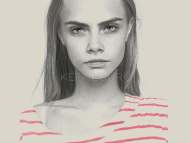 Kei Meguro drawing #art – Cara II