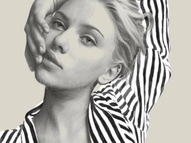 Kei Meguro drawing #art – Scarlette Johanson
