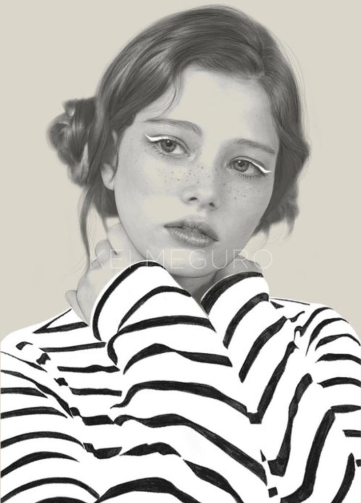 Kei Meguro drawing #art - Waiting