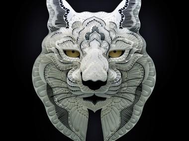 Patrick Cabral – papercuts Art – Lynx