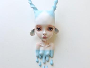 """Erica Borghstijn – Art dolls sculpture """"Antelope"""""""